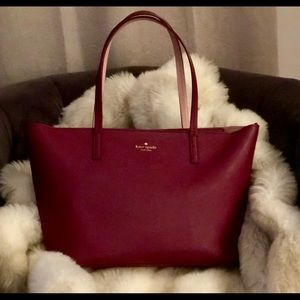 Kate Spade Leather Shopper